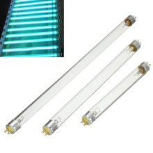 T5 4 Вт/6 Вт/8 Вт УФ дезинфекционная лампа, ультрафиолетовая лампа, светильник, синий, 14,8 см/22,5 см/29,5 см