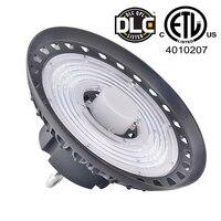 Подвесной светодиодный промышленных с СВЧ датчиком Водонепроницаемый IP65 промышленных складской гараж с подсветкой Лампа подвесного свети