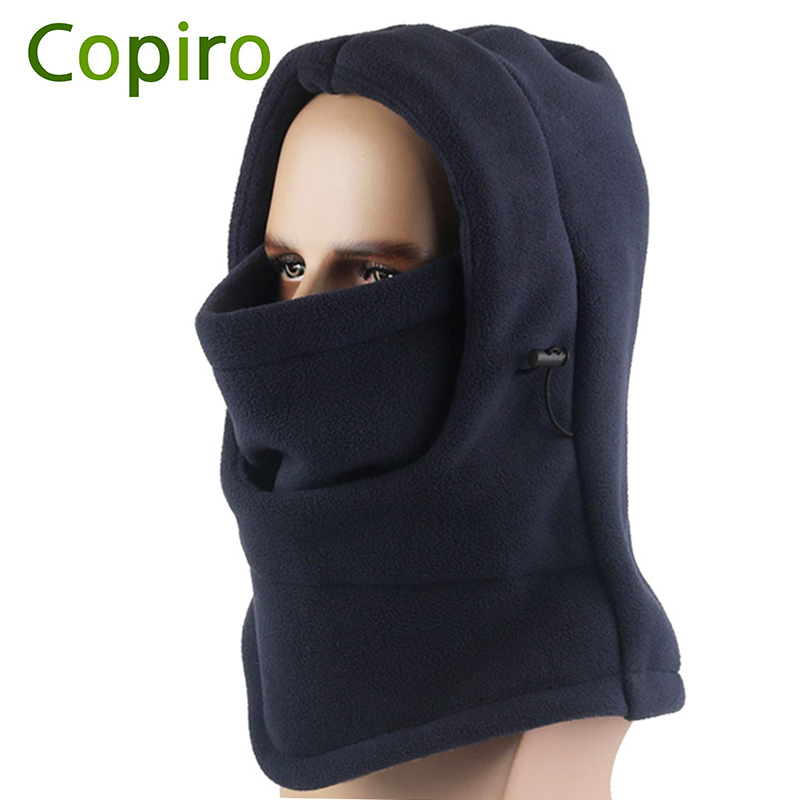 Copiro Winter Cotton Thicken Cycling Cap Headgear Windproof Thermal Bicycle Mask Bandana Sport Headband Ski Scarf Bike Hat