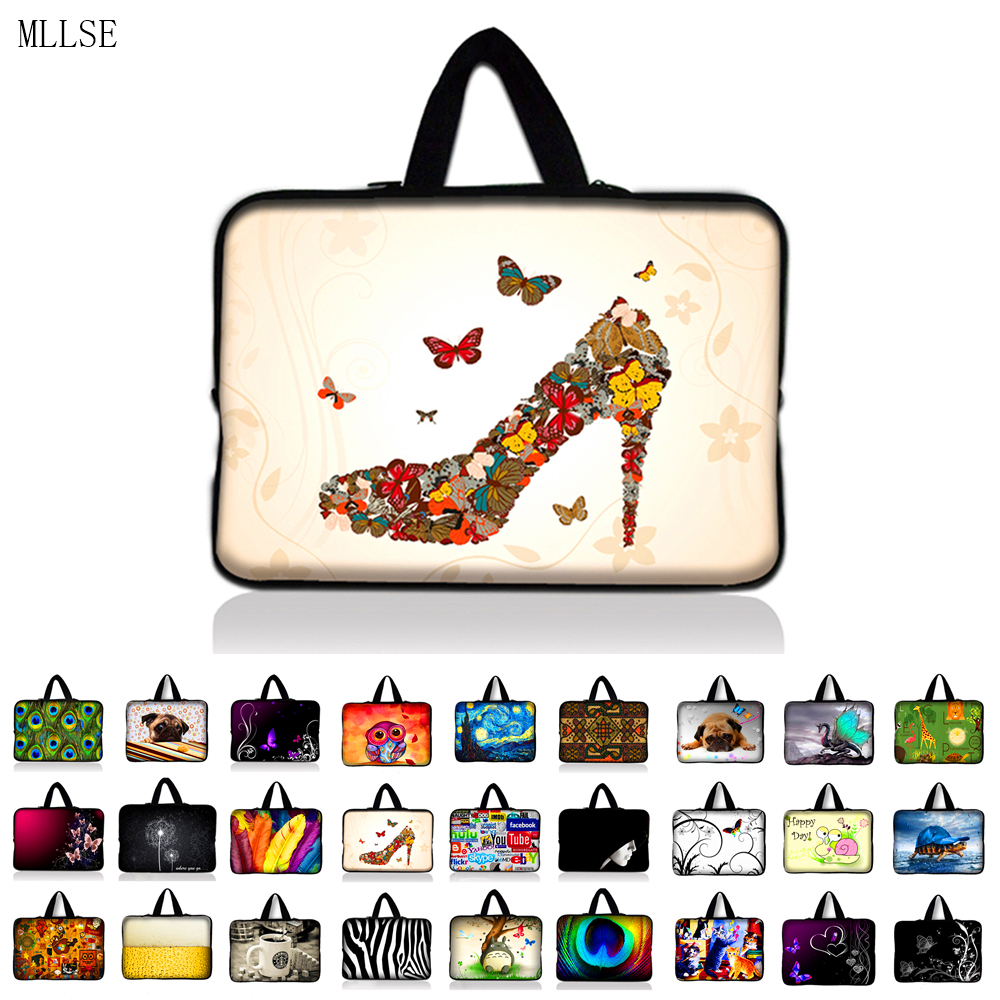 7 10 12 13 13.3 14.4 15.6 17.3 Inch Handle Laptop Sleeve Bag Notebook Smart Cover Case For Macbook Air/Pro/Retina ASUS Acer HP
