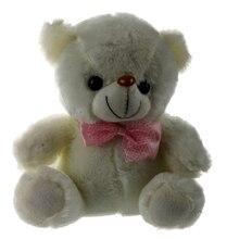 Lovely colorful shining talking Plush teddy bear Doll LED Luminous Stuffed toys Rainbow Colors Night Light Flashing best gift
