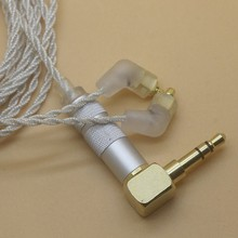 ФОТО 2017 newest c36 l bending upgrade earphone silver plated copper wire earphone mmcx cable for shure se215 se846 se535 headphone