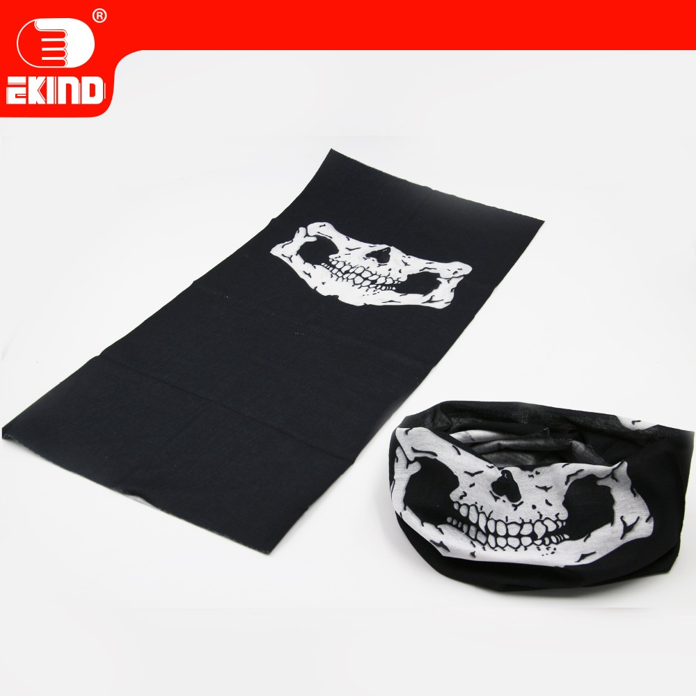 Tactical Skeleton Mask Of EKIND For Nerf N-strike Elite Toy Gun Game Skeleton Motorcycle Multi Function Headwear Hat Scarf Neck