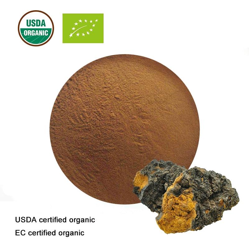 Usda Und Ec Certified Organic Chaga Pilz Pulver FöRderung Der Produktion Von KöRperflüSsigkeit Und Speichel Schlankheits-cremes Schönheit & Gesundheit
