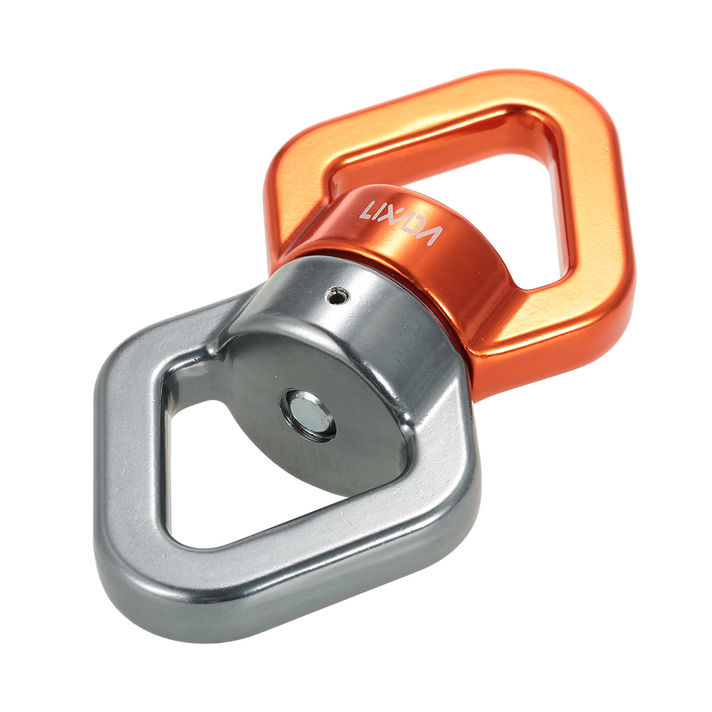 Image 2 - Lixada Rope Swivel 30kN Rope Swivel Connector Rope Swivel Sealed Bearing Rescue Climbing Rope Swivels Fitness Equipment-in Climbing Accessories from Sports & Entertainment