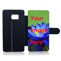 Personalize Leather Flip Mobile Phone Case For Samsung Galaxy S2 S3 S3mini S4 S4mini S5 S5mini