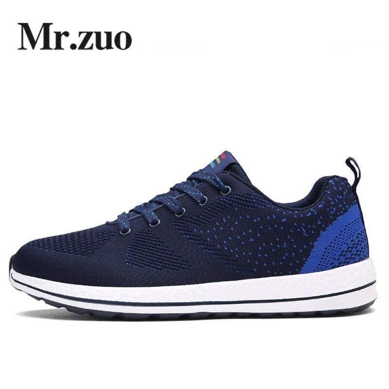 Brand Sneakers Men 2017 Summer Mesh Men Running shoes Walking Shoes Trainers Sport shoes Runner Jogging Shoes big sizes 46 47 48