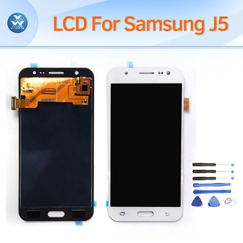 ФОТО LCD screen for Samsung Galaxy J5 J500 J500F J5 2015 2016 J510 J510F J510M LCD display touch digitizer glass assembly repair+tool