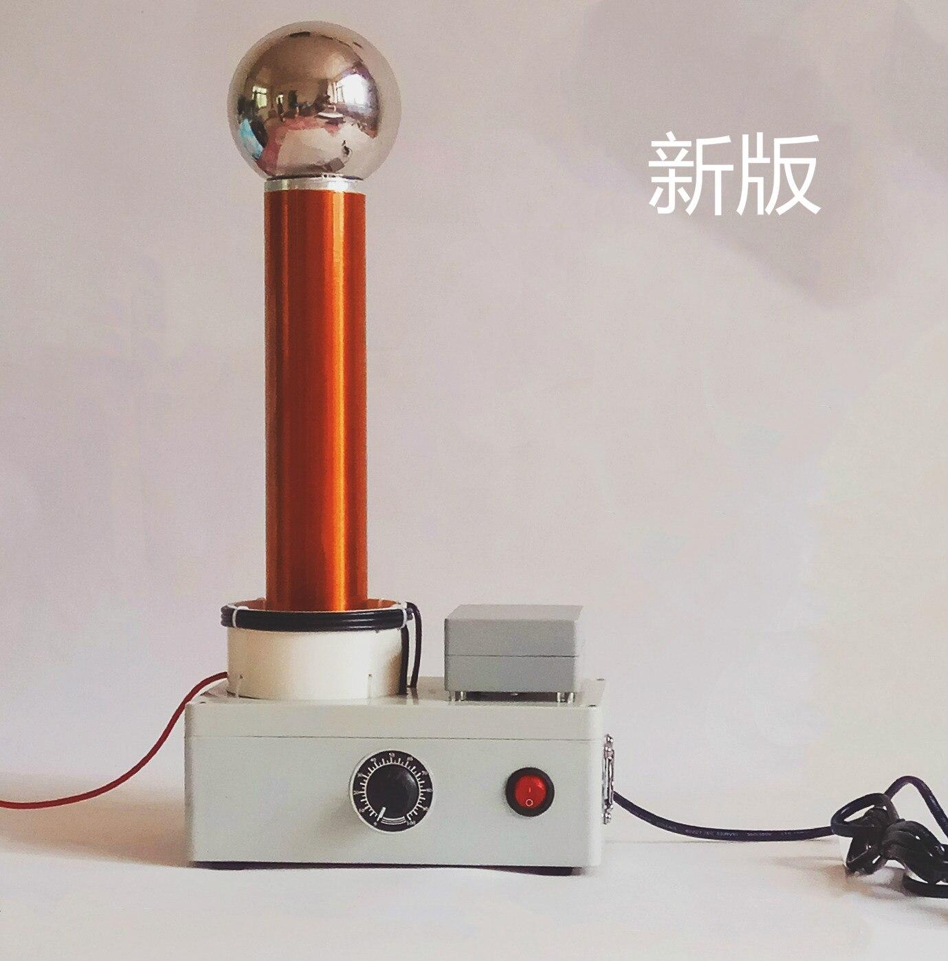 Démonstration du principe de Transmission sans fil AC haute fréquence du simulateur de foudre d'étincelle de bobine Tesla - 3