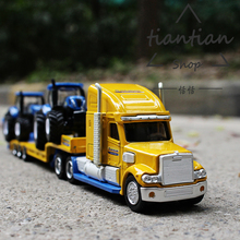 siku Model Decoration kids toys 1:87 Freight truck trailer tractor Metal alloy car model Children like the gift