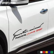 Personalizzabile Sport Mente Della Decorazione Stile Auto Automobili Car Sticker Decal Per Nissan Juke Nismo JDM Accessori Esterni