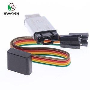 Image 5 - غلاف من الألومنيوم CP2102 USB 2.0 إلى TTL UART وحدة 6Pin محول مسلسل STC استبدال FT232 وحدة دعم 5 فولت/3.3 فولت لاردوينو