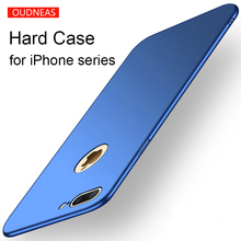 Ultra-thin Hard Mobile Phone cases for iPhone X XS XSMAX Case Matte Luxury Black Cover 7 8 Plus Coque