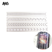 AHB Cutting Dies Lace Border Carbon Steel Metal Template Album Greeting Card Making Mold DIY Scrapbooking