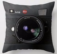 New Arrival Morimo Camera Vintage Style Custom Two Sides Square Zippered Super Luxury Printing Pillowcases Unique