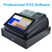 цена 10inch Touch Screen Cash Register With Printer Cash Drawer and Professional Software