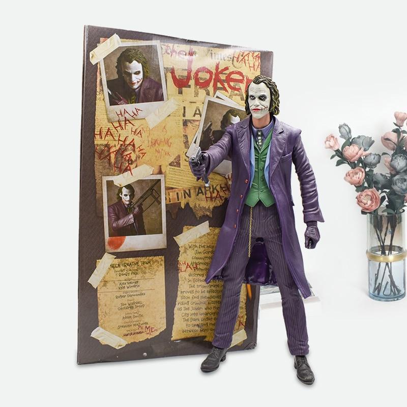 18''45cm Batman Joker Action Figure Toy Film Around Jack Napier PVC Movie&TV Models Dolls Gift For Kids' Christmas Free Shipping sailor moon 13cm toys action figure brinquedo toy 1939 kids christmas gift free shipping