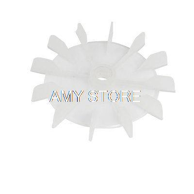 Y14 Spare Part 14mm Inner Diameter 12-Vanes Impeller Plastic Motor Fan Blade Wheel qaulity aluminum vacuum cleaner motor fan blade 112mm 8mm hole wind wheel impeller