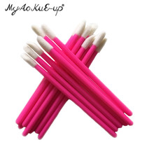 Wholesale Price for 1000 pcs Disposable Cosmetic Lip Brush Lipstick Gloss Wands Applicator