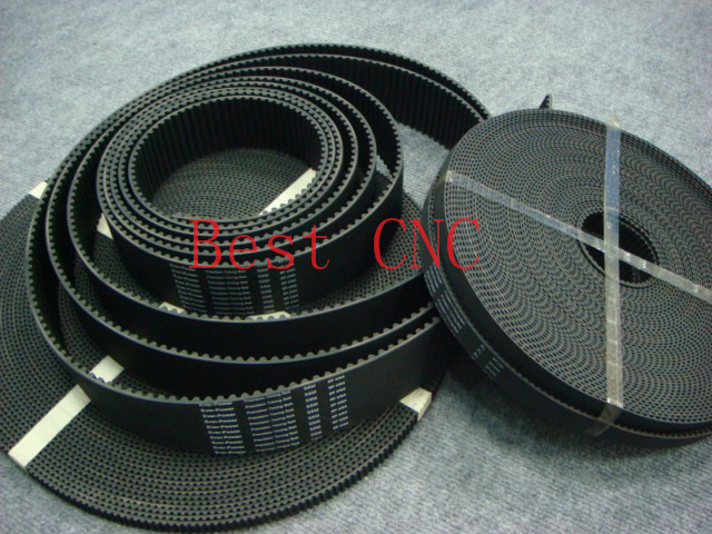 15meters HTD 5M timing belt width 9mm Arc tooth pitch 5mm Synchronous rubber open ended pulley CNC 3D Engraving Machine HTD5M in Transmission Belts from Home Improvement