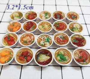 Image 5 - Miniaturas for1/6 bonecas para cozinha, miniaturas de macarrão, arroz chinês, sobremesa, escala 1:6, cozinha brinquedos, brinquedos