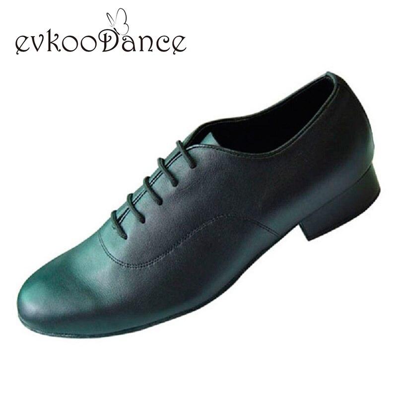 Altezza del tacco 2.5 cm Zapatos De Baile Due Diversi Stile Nero Formato DEGLI STATI UNITI 4.5-13.5 Professionale Sala Da Ballo Scarpe Da Ballo uomini MB003