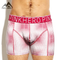 Pink Hero New Cotton Dot Print Men's Boxer Shorts Sexy Strech Soft Waistband Men's Underwear P1255 Free Shipping