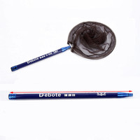 Length 210cm Large Size Carbon Portable Folding Fishing Net carp fishing dip net fishing accessories
