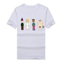 Radiohead cartoon logo Mens T Shirts 2017 Summer Fashion Tops Tee Black 100% Cotton Tee T-Shirt  1208-3