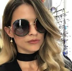 Okrągłe okulary przeciwsłoneczne damskie 2020 Vintage okulary przeciwsłoneczne damskie gefas de sol okulary przeciwsłoneczne oneczne okulary przeciwsłoneczne UV400 1