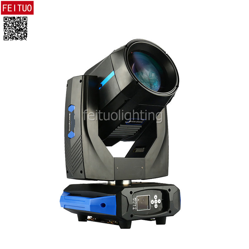 2018 New Double Prism & Gobos Beam 17r 350w Sharpy Moving Head Light 16 Channel Lyre Beam 350 Dmx Disco Stage Dj Light Equipment