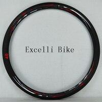 700C дорожный велосипед нож из углеродной стали широкий обод колесо из углеродного волокна велосипедная ободная 20/24 Отверстия французский кл