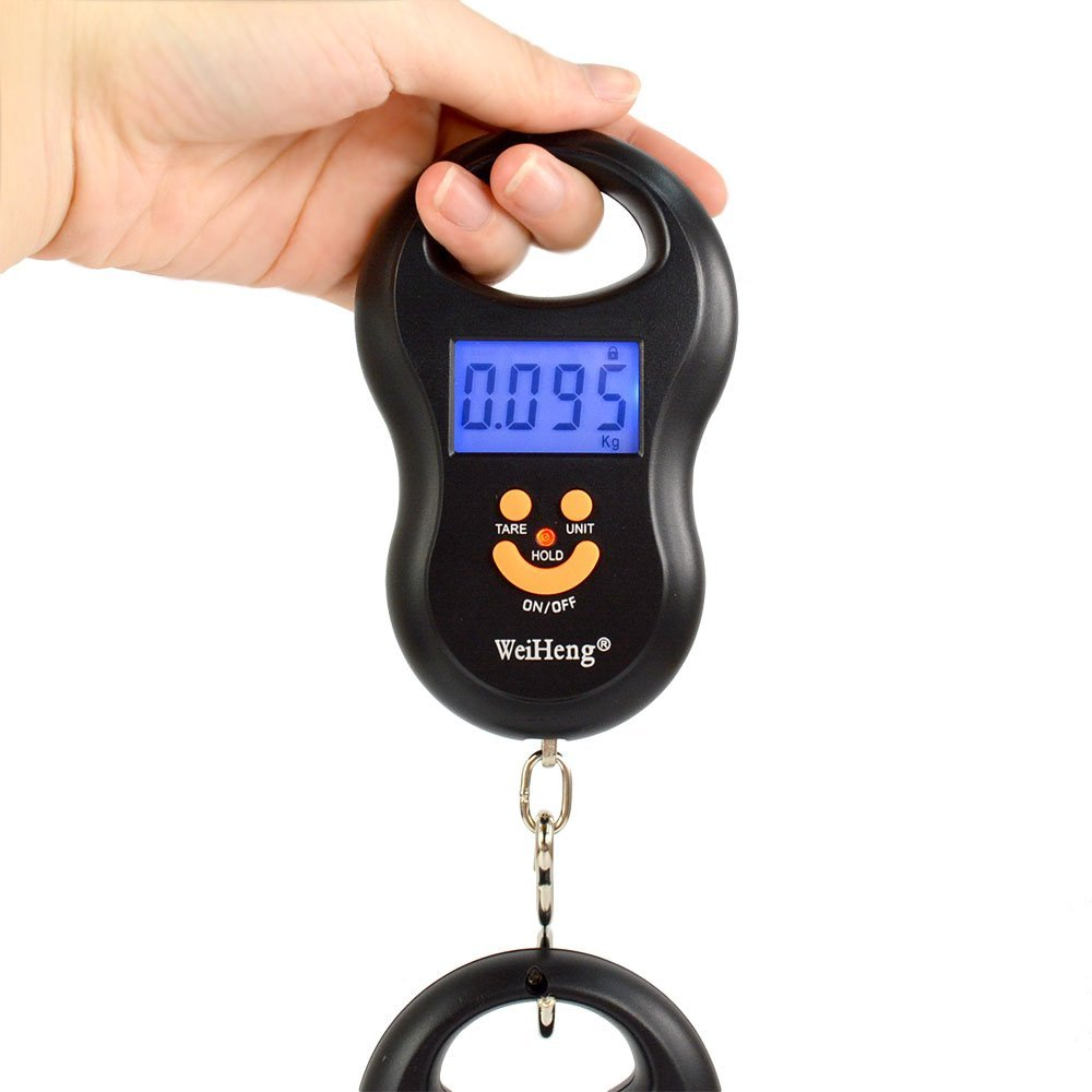 Digital Hanging hook luggage Scale 50Kg /10g electronic balance hand held scales for a suitcase traveling fishing baggage scaleDigital Hanging hook luggage Scale 50Kg /10g electronic balance hand held scales for a suitcase traveling fishing baggage scale