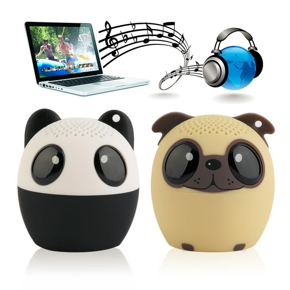 Bluetooth Wireless Cute Animal panda dog Sound Speaker s