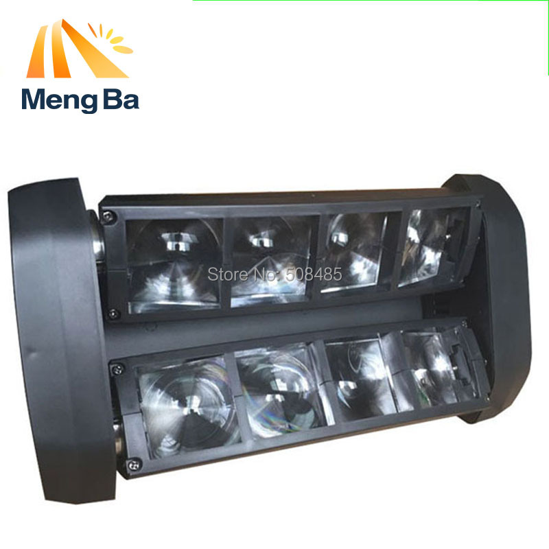 20PCS  8*10w LED RGBW CREE Beam Light 8 Eyes Mini Spider Light DMX512 Moving Head Light DJ/Fest/Home / Bar /Stage /Party