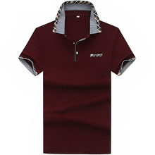 2017 new arrival  short sleeves Men's fashion Polo shirts men business leisure Polo Shirts Men's 100% cotton short sleeves shirt