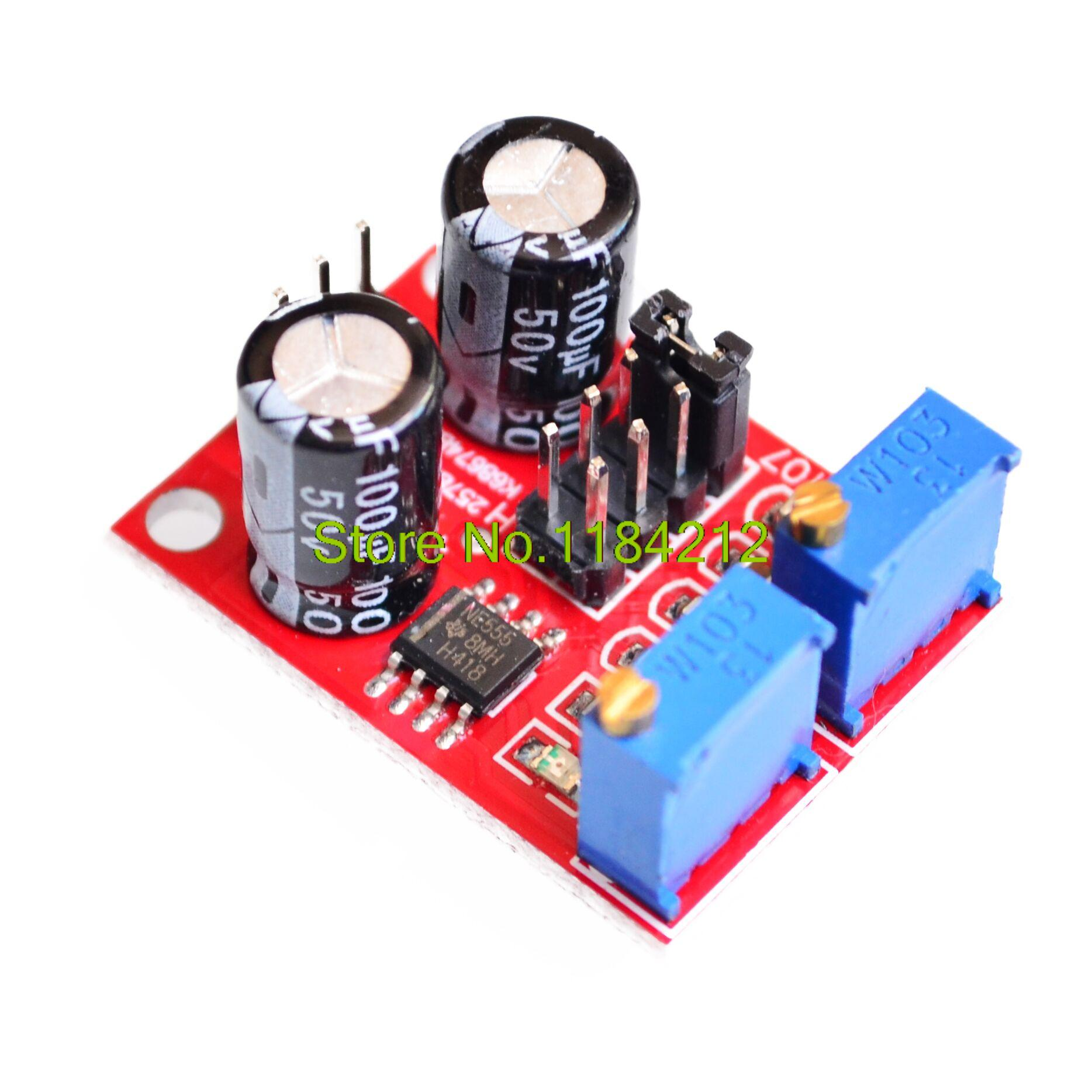NE555 Pulse Frequency Duty Cycle Adjustable Module Square Wave Signal Generator gadget