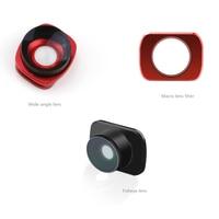 3 pcs/set Wide angle lens & fisheye filter & macro lens Magnetic adsorption mount for DJI osmo Pocket camera Handheld gimbal