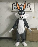 bugs bunny mascot costumes smile cartoon rabbit mascot costumes