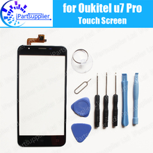 Oukitel u7 Pro Touch Screen Digitizer 100% Guarantee Original Digitizer Glass Panel Touch Replacement For Oukitel u7 Pro + Tools