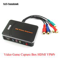 EZCAP HD Video Game Capture Box HDMI YPbPr Recorder One Clink Record Into USB Flash For