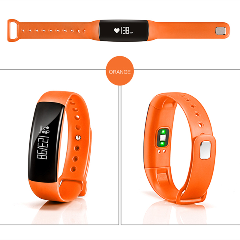 Fuster M88 Sport Activity Trace Tracker Bluetooth Smart Band Heart Rate Monitor Blood Pressure Detection Fitness
