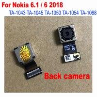 LTPro الخلفية عودة بيغ الرئيسية كاميرا وحدة فليكس كابل لهواتف نوكيا 6.1 6 2018 تا-1043 تا-1045 تا- 1050 تا-1054 تا-1068 استبدال