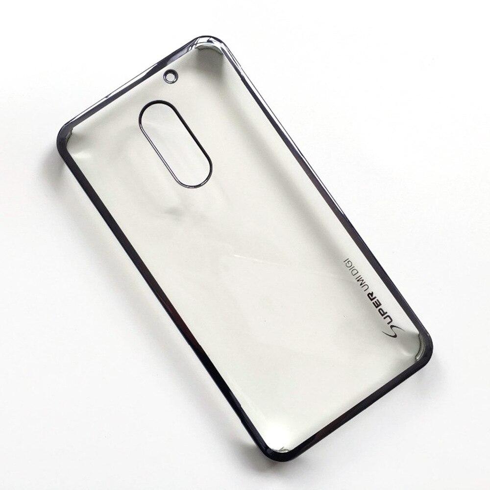 imágenes para Venta Superior de alta calidad Para umi súper Case100 % Original Oficial de Protección PC Volver Funda de Silicona para umi súper Smartphone