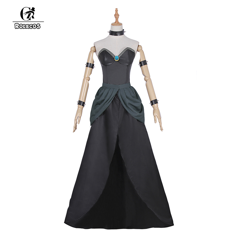 ROLECOS Game Super Mario Cosplay Costumes Bowsette Costume ...