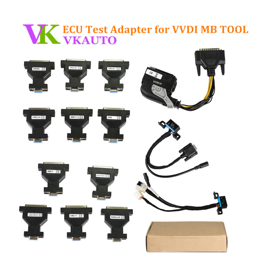 ECU Test Adapter Work With VVDI MB Tool/KESS V2/KTAG/NEC PRO57 new ecm titanium 1 61 with 18475 driver can work with kess and ktag ecu programmer free shipping