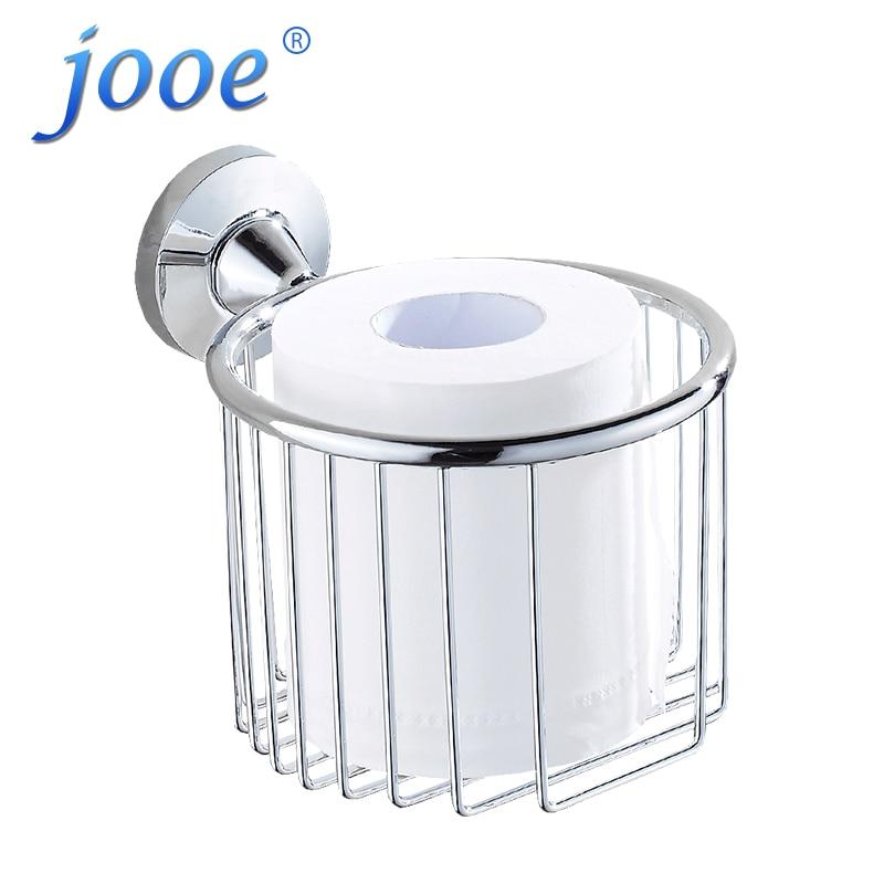 где купить jooe New bathroom accessories  Stainless Steel toilet paper holder wall mounted porta papel higienico porte papier toilette дешево