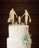 חריטת מצחיק Mariage דקו רעיונות לקשט עוגה אישית רטרו חתני Casamento כלה וחתן Toppers עוגת חתונה זולה
