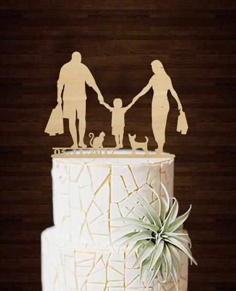 Engraving Funny Deco Mariage Customized Cake Decorating Ideas Retro Grooms  Casamento Bride And Groom Cheap Wedding