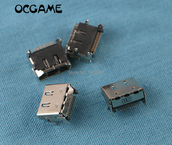 OCGAME 100PCS/LOT HDMI Port Socket Interface Connector for XBOX360 XBOX 360 Slim internal replacement